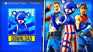 "NEW *FREE* SKIN PACK ""INDEPENDENCE DAY"" IN FORTNITE! (July 4th FREE Skins) - Fortnite: Battle Royale"