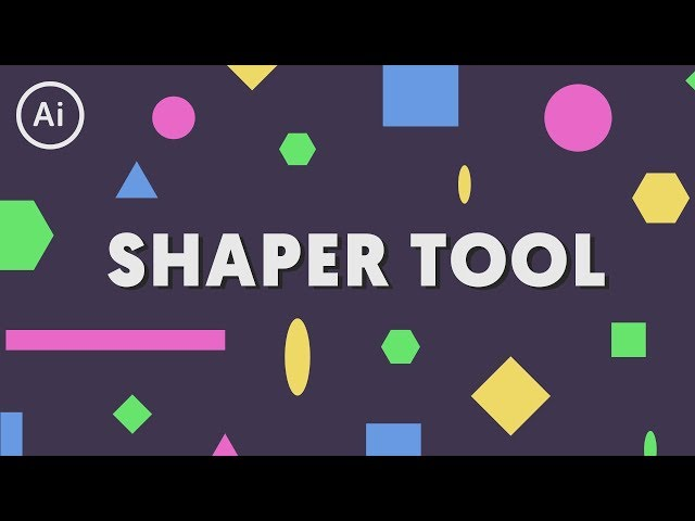 Draw Perfect Shapes with the Shaper Tool | Illustrator Tutorial