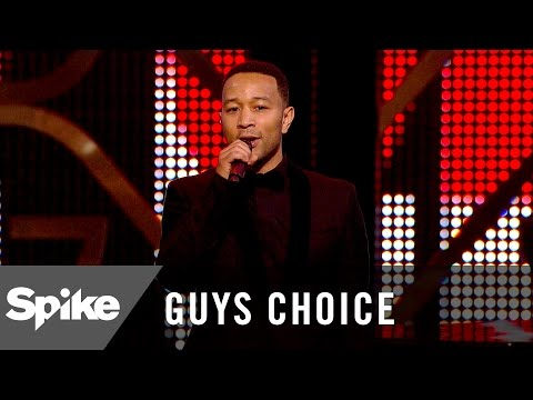 John Legend and Andra Day Pay Tribute to Muhammad Ali - Guys Choice 2016