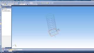 Как создать пружину в Компас 3D (Урок Компас 3Д)
