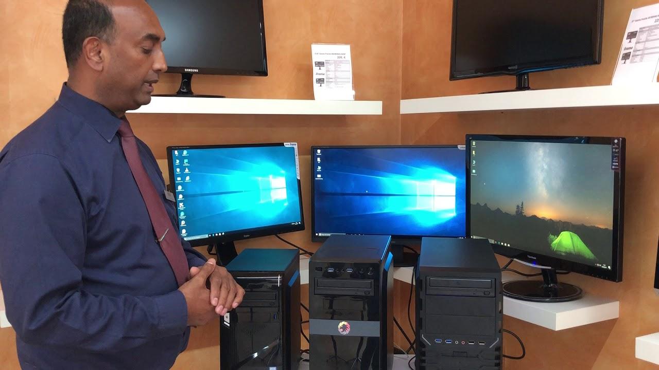 Intel Starter Office Pc Vs Advanced Multimedia Vs Professional