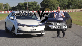 TN Autos Programa 138 | Comparativo Toyota Corolla - Honda Civic. Parte 1