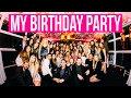 MY YACHT BIRTHDAY PARTY VLOG!!