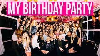 MY YACHT BIRTHDAY PARTY VLOG!!