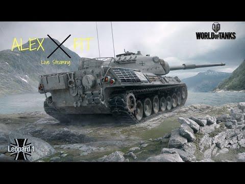 LIVE! World Of Tanks #5 Leopard 1