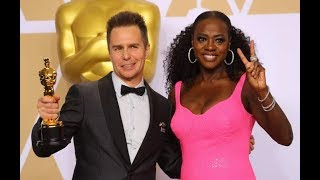 Sam Rockwell wins an oscar for  best best supporting actor