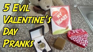 5 Evil Valentine's Day Pranks You Must Try- Payback on GF/BF
