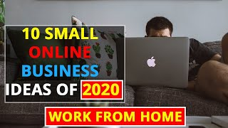 10 Small Online Business Ideas of 2020 | Passive Income From Home | Ideas with Fazil|