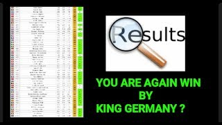 Football Betting Tips - 17.12.2018 - KING GERMANY