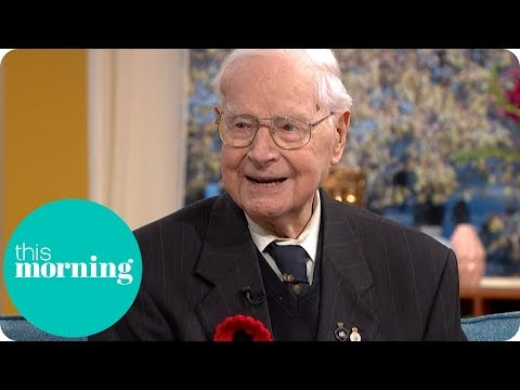 Britain's Oldest Poppy Seller: 103-year-old Walter Randall | This Morning