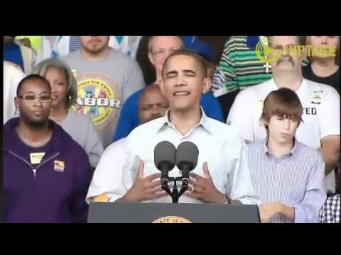 Obama Gives Barn Burner In Milwaukee- Full Video