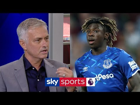 Jose Mourinho excited by Everton's new signing Moise Kean | Super Sunday