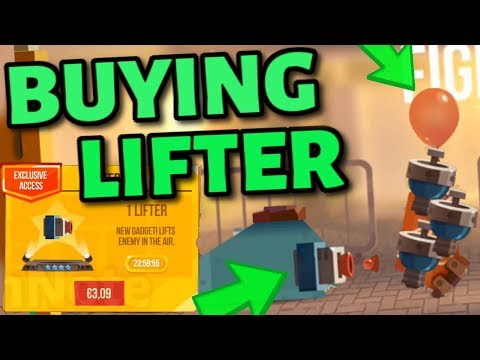 BUYING THE LIFTER in C.A.T.S - New Weapon/Gadget in Crash Arena Turbo Stars