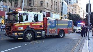 Car vs Multiple Pedestrians, George Street, Brisbane City