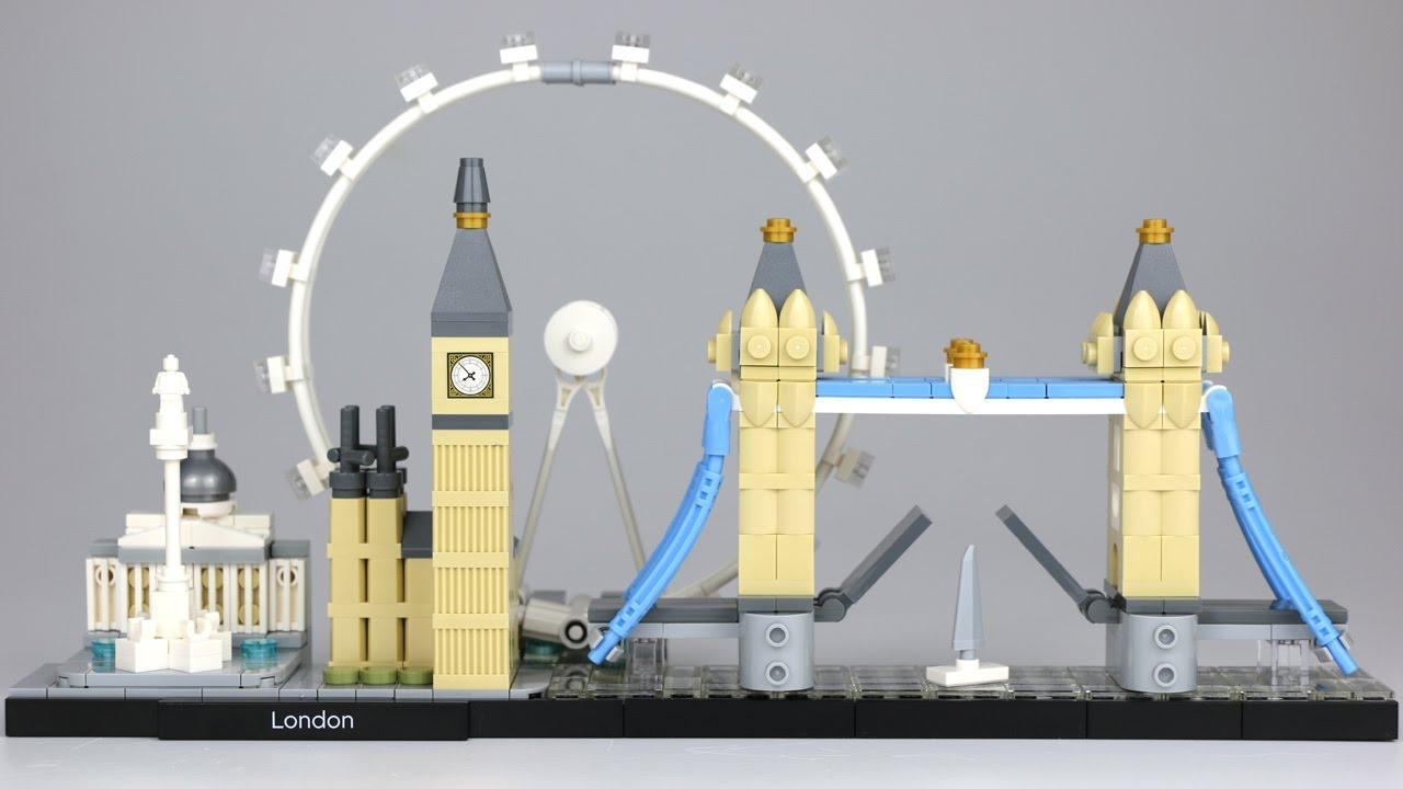 Lego Architecture London 21034 Review Auf Deutsch Youtube