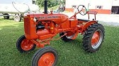 How to crank start Allis Chalmers B cold - YouTube