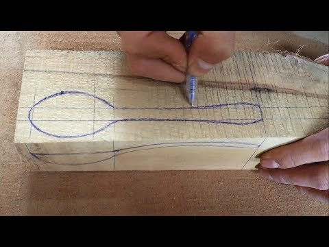 Amazing Woodworking Skills - Making a Wooden Spoon From Discarded Log