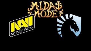 Navi vs Liquid Midas Mode Highlights Dota 2