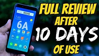 Xiaomi Redmi 6A Full Indepth Review After 10 Days Of Use | Data Dock