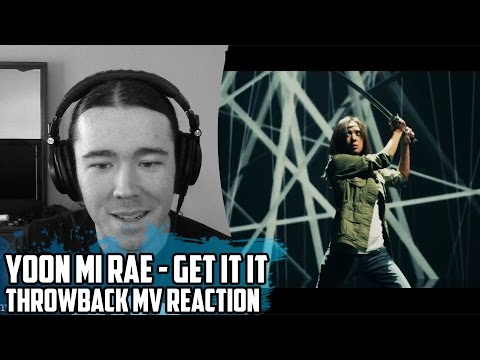 Yoon Mi Rae (t윤미래) Feat. Tiger JK(타이거JK) - Get It In(겟잇인) | Throwback MV Reaction