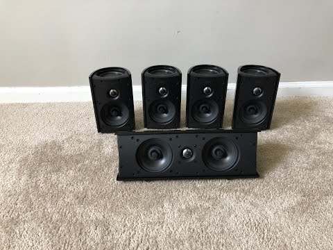 Definitive Technology Pro Cinema Monitor 800 and 1000 Home Theater Surround Speakers