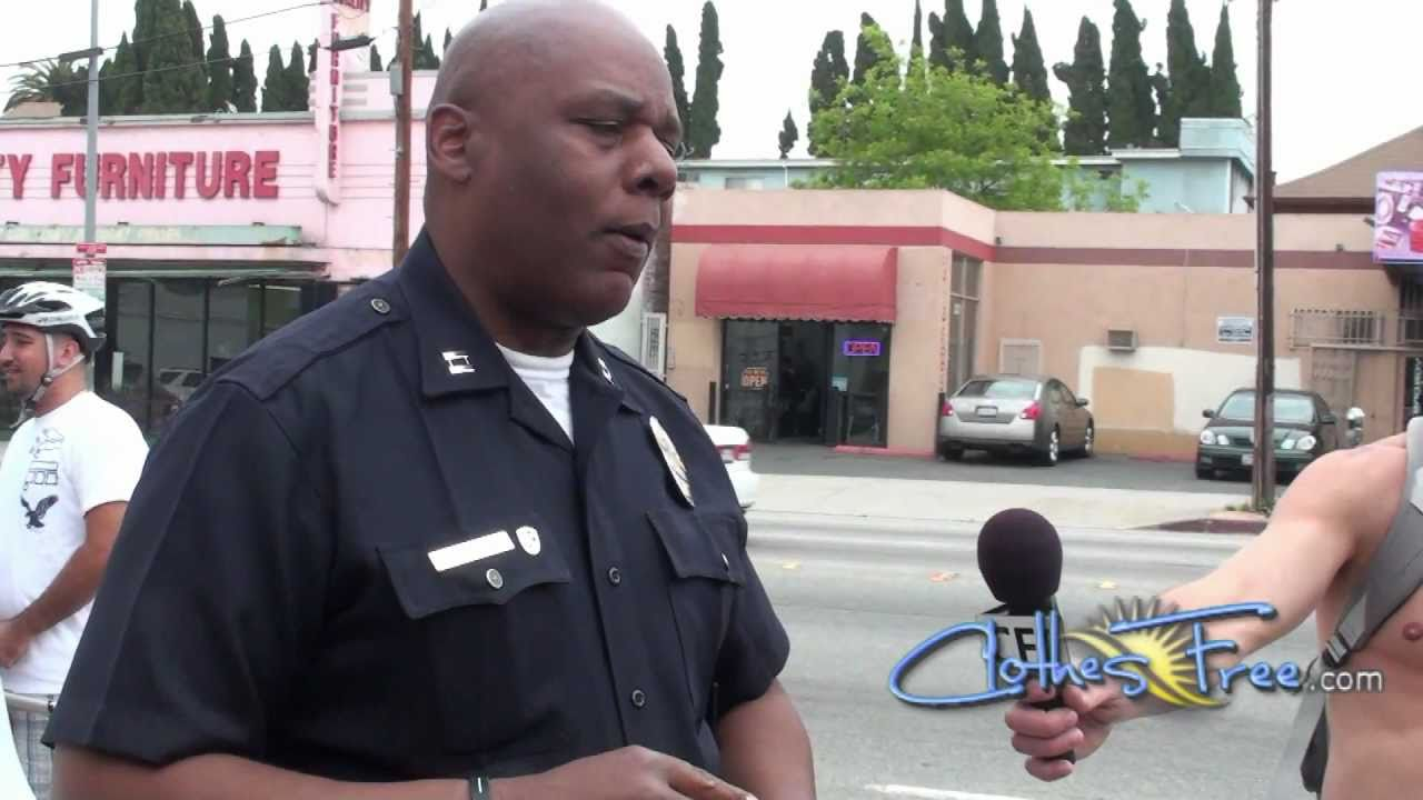 LAPD says nudity OK at World Naked Bike Ride 2011 in Los