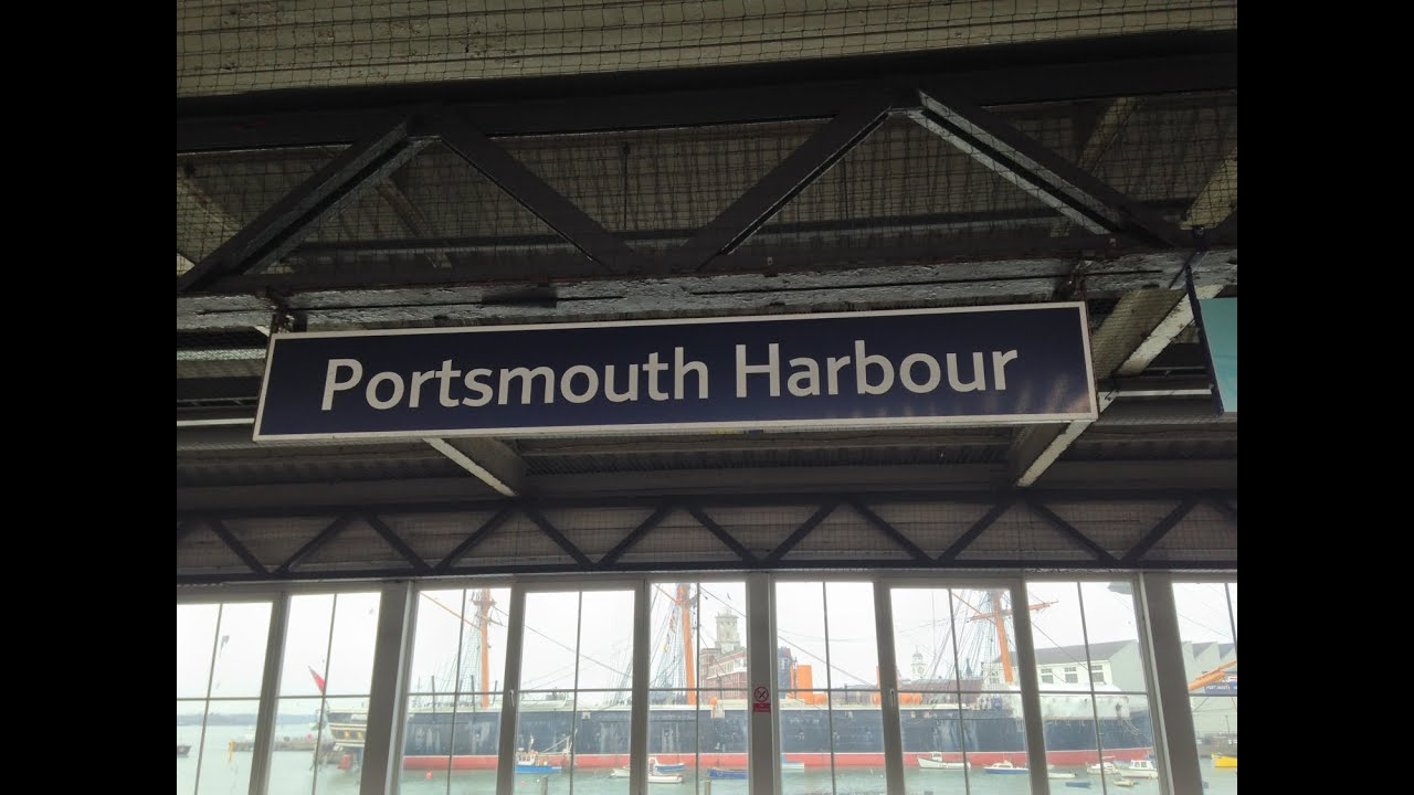 Full journey on south west trains from london waterloo to portsmouth