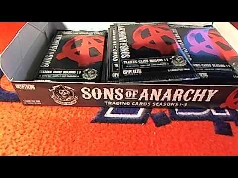 Sons of Anarchy Seasons 1 3 box 1 Cryptozoic