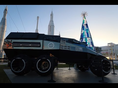 Christmas At Kennedy Space Center   Huge Tour, Preview Of Astronaut Training Experience & More!