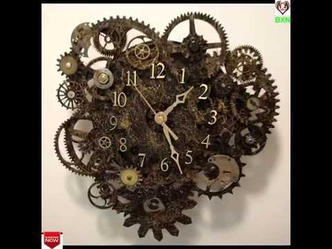 26 Unusual and Creative DIY Clocks - Architecture Art Designs