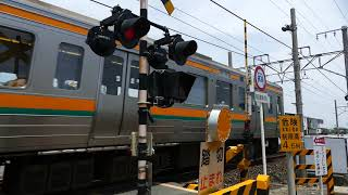 異常事態!! 警報機は鳴ってるけど列車は来ない?遮断機は上がったまま列車通過?
