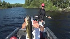MidWest Outdoors TV Show #1577 - Multi Species Action from Crane Lake, Minnesota