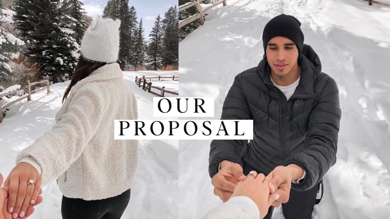 WEDDING SERIES: Our Proposal Story | A Colorado Engagement