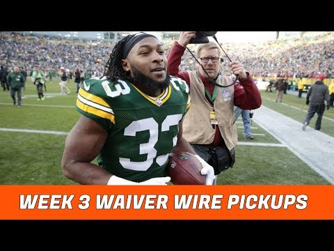 2018 Fantasy Football: Week 3 Waiver Wire Pickups
