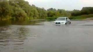 BMW X6 DRIVING WATER