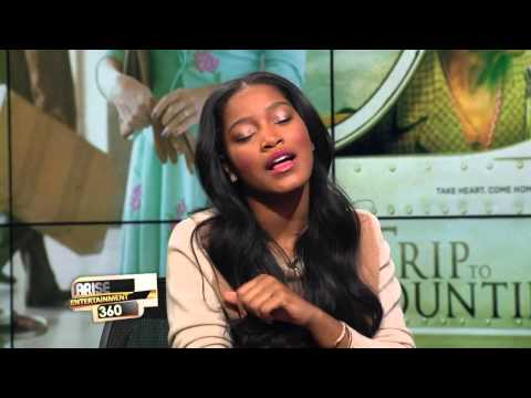 "Keke Palmer Sings ""His Eye is on the Sparrow"" on Arise"