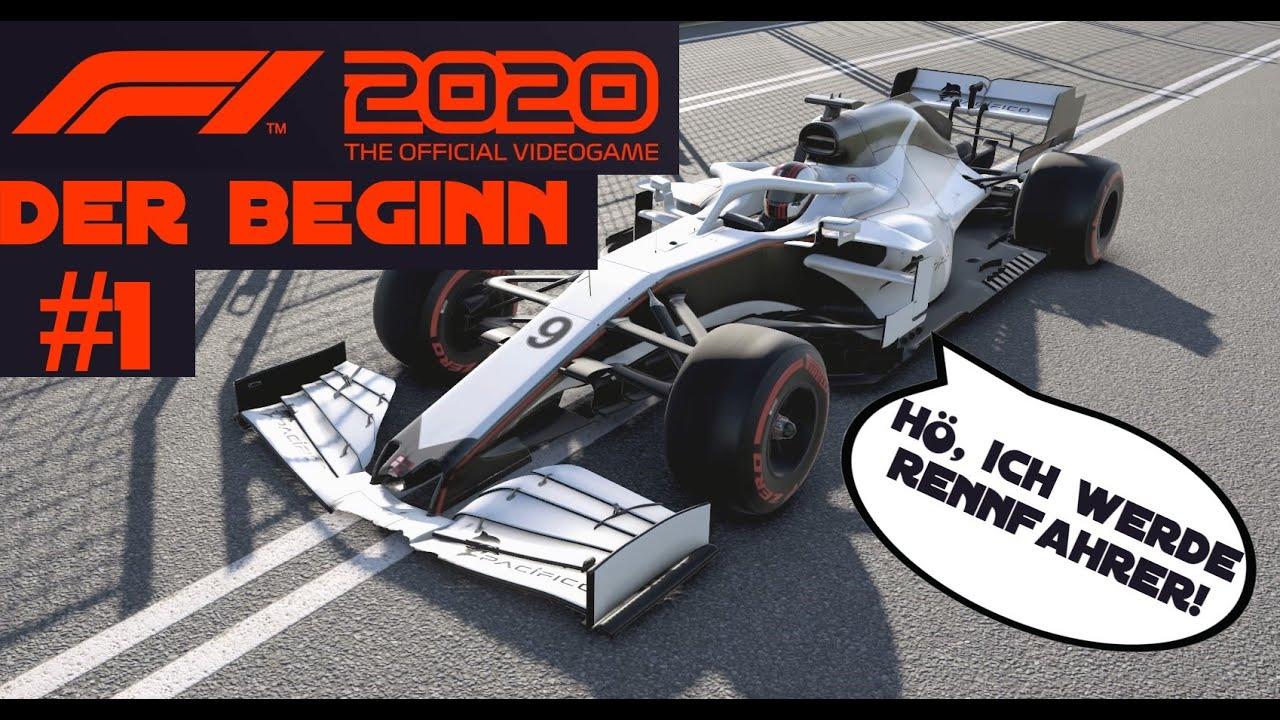 Beginn Formel 1