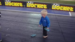 wsid top fuel dragster sticky thongs track walk