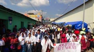 Sepelio Margarita Carrillo abril de 2015, Huitan Quetzaltenango