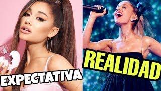 ARIANA GRANDE SIN AUTOTUNE   LIVE VOCALS   EXPECTATIVA VS REALIDAD