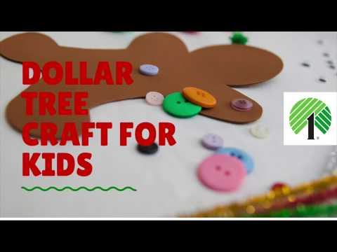 Dollar Tree Christmas Craft For Kids
