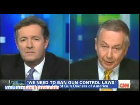 """You're an unbelievably stupid man"" -- Piers Morgan insults guest during gun control debate"