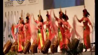 Tarian Zapin dan Rampak Gendang Nusantara Sambut Raja Salman - BIS 01/03
