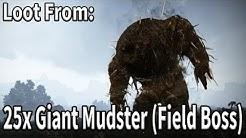 Loot From 25x Giant Mudster (Field Boss) | Black Desert Online