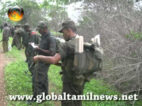 Permanent military occupation of the North and East Srilanka. 05.mpg