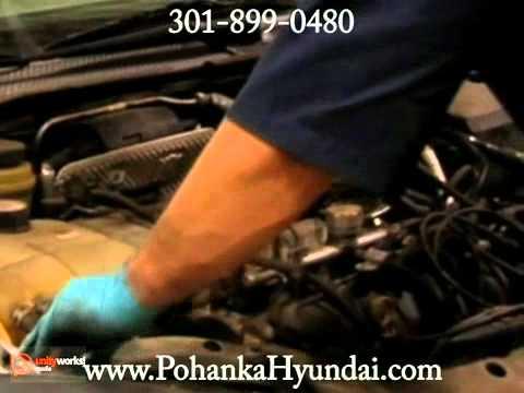 Hyundai Check Engine Light Service Education Washington DC