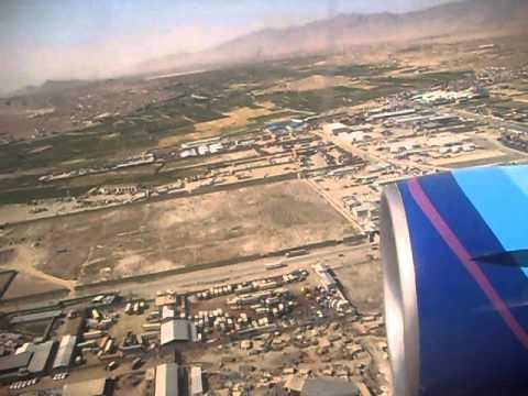 Landing on Kabul International Airport - 20 June 2011