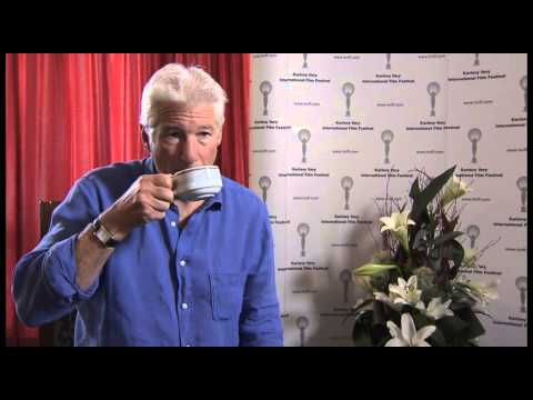 Interview Richard Gere in Karlovy Vary