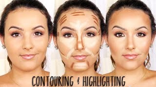 Contouring & Highlighting using Creams