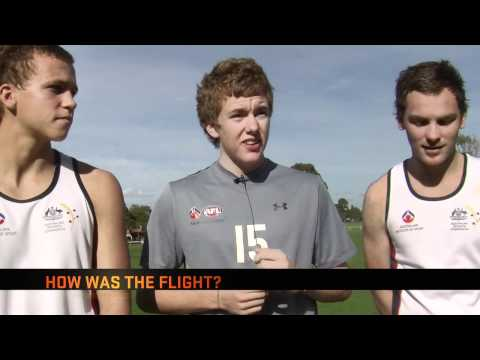 GIANTS Vision AIS AFL Acadamy Goes To Europe